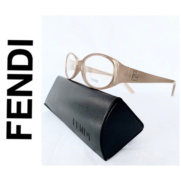 a1d0f5290832 NEW authentic FENDI eyeglasses sand beige
